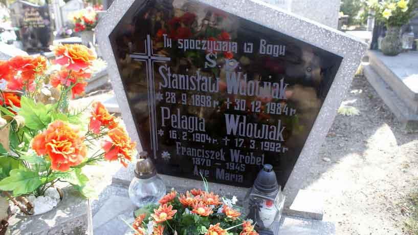 Stanisław Wdowiak -  cmentarz Żabikowo w Luboniu