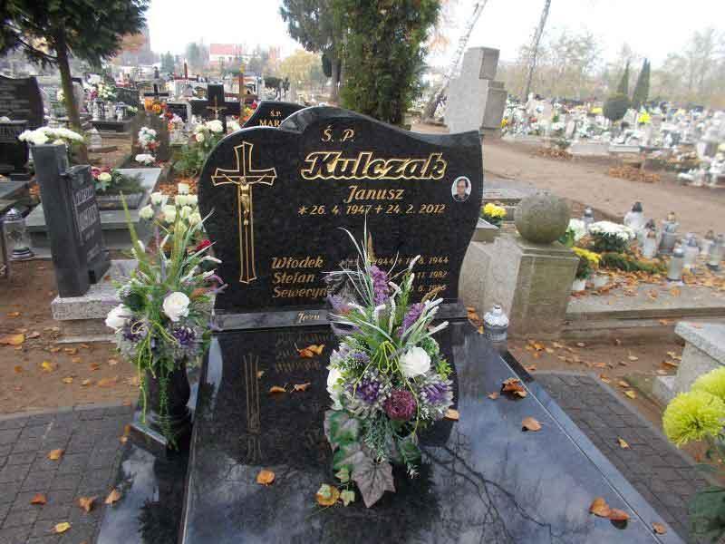 Stefan Kulczak - cmentarz Nowofarny w Wągrowcu