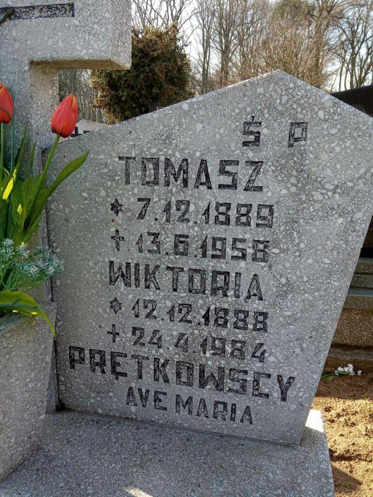 Tomasz Prętkowski - cmentarz parafialny w Nekli (zdjęcie udostępnił Remigiusz Maćkowiak)