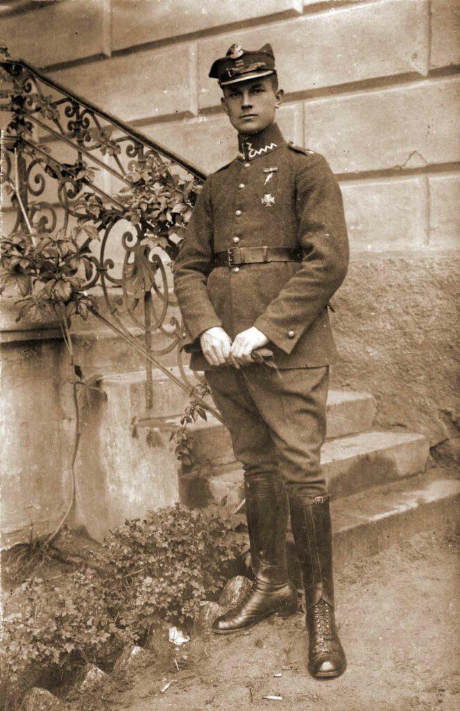 Wincenty Tomczak w Wojsku Polskim (zdjęcie udostępnił Remigiusz Maćkowiak)