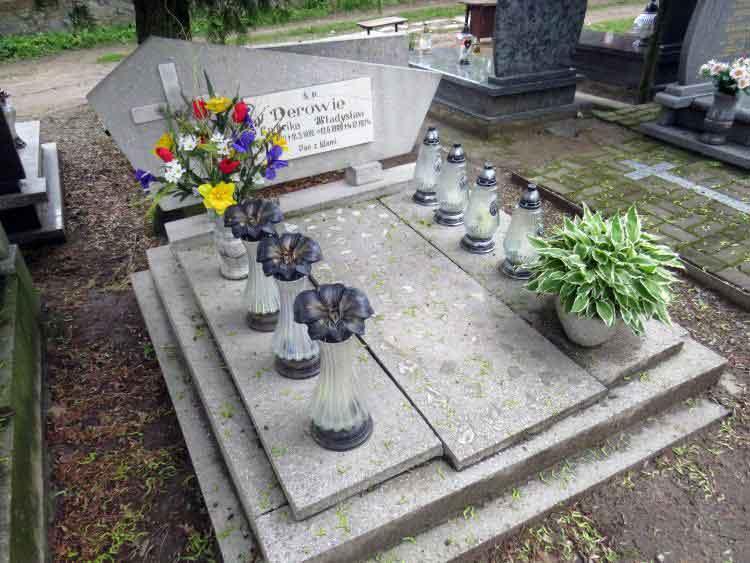Władysław Dera - cmentarz św. Piotra w Gnieźnie