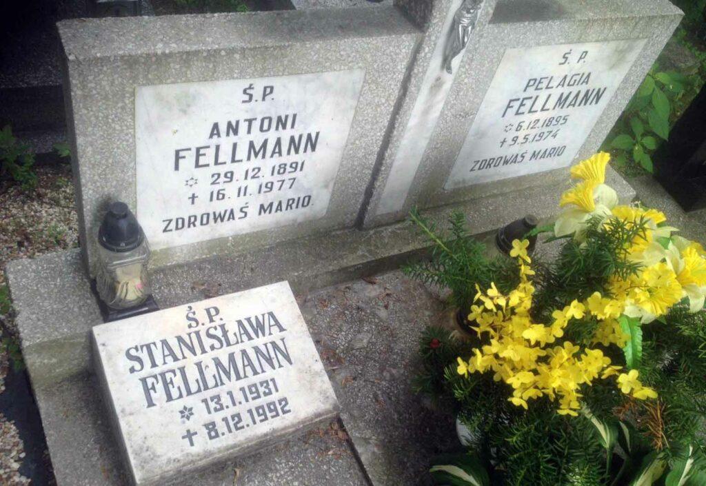 Antoni Fellmann - cmentarz górczyński w Poznaniu.