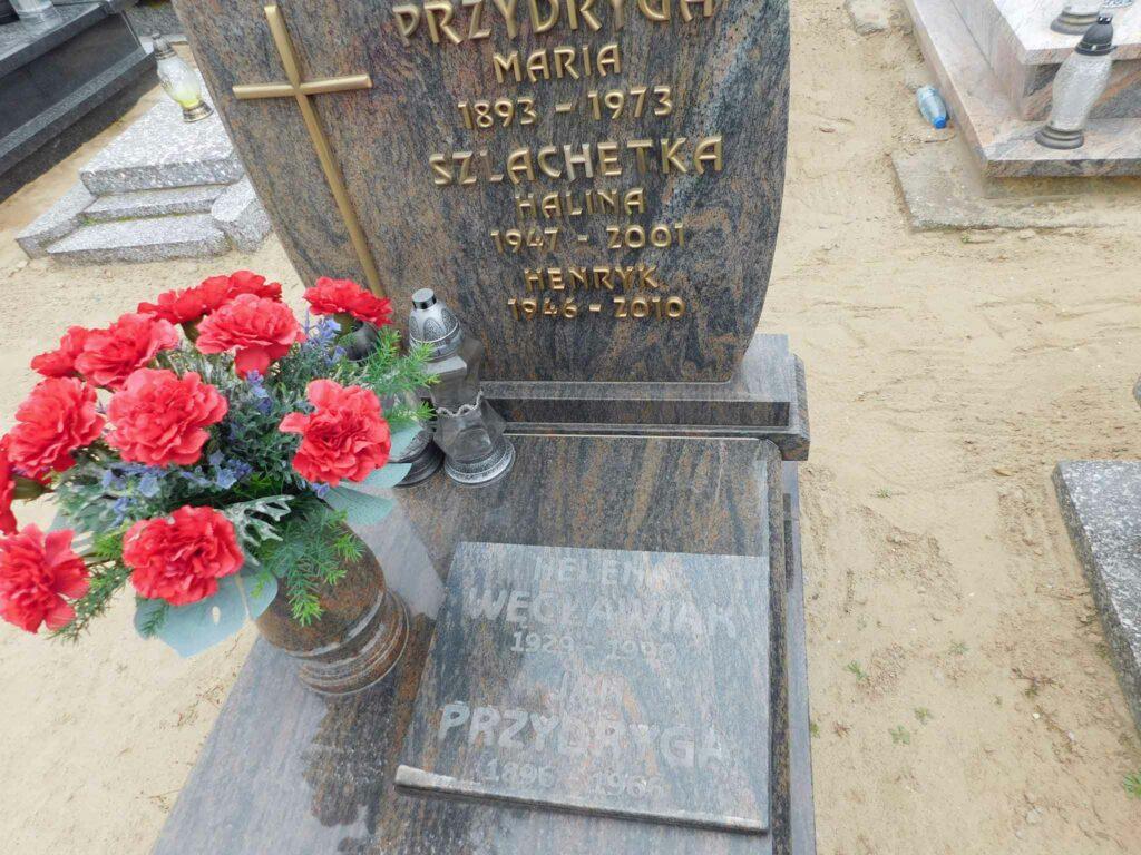 Jan Przydryga - cmentarz parafialny w Orzechowie (zdjęcie udostępnił Remigiusz Maćkowiak)