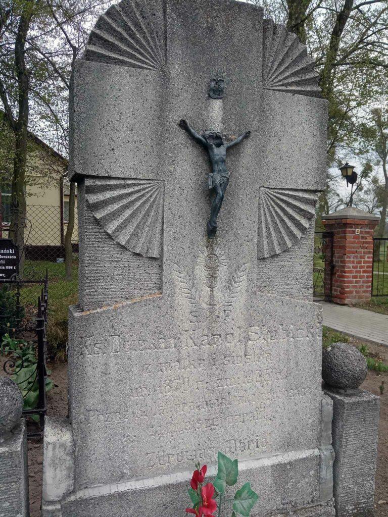 Karol Słubicki - cmentarz parafialny w Graboszewie (zdjęcie udostępnił Remigiusz Maćkowiak)
