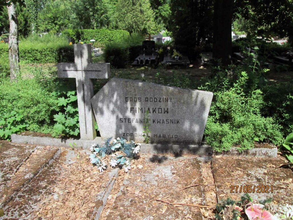 Antoni Fimiak - cmentarz na Junikowie w Poznaniu