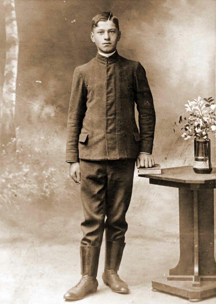 Ignacy Grodziński (zdjęcie udostępnił Remigiusz Maćkowiak)