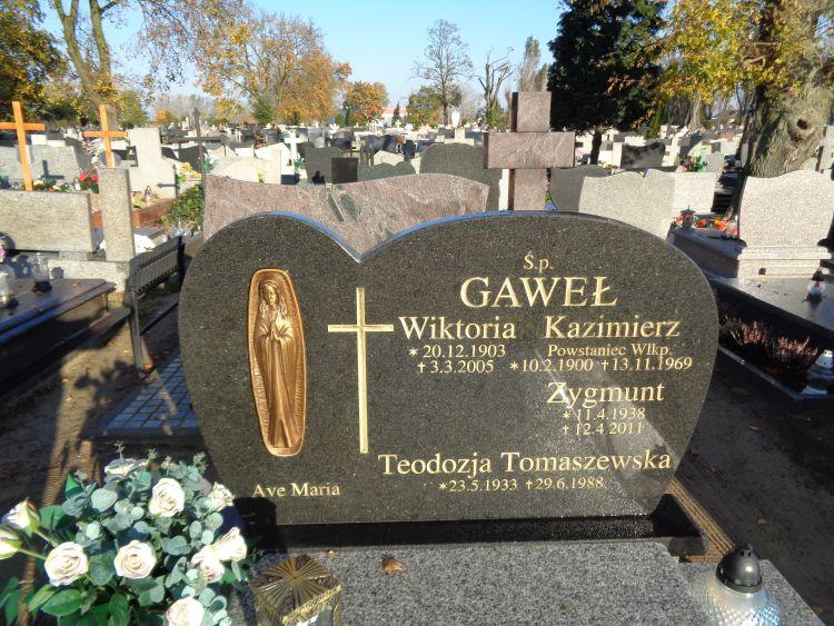 Kazimierz Gaweł - cmentarz św. Wawrzyńca w Gnieźnie