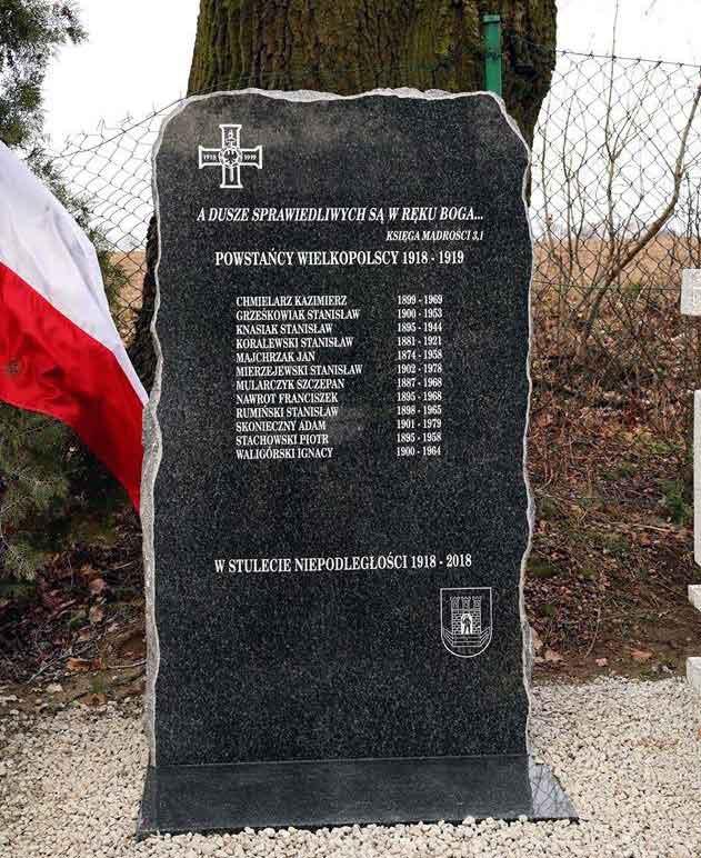 Stanisław Mierzejewski - tablica pamiątkowa w Wierzenicy