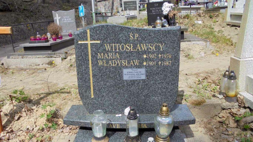 Władysław Witosławski - cmentarz witomiński w Gdyni