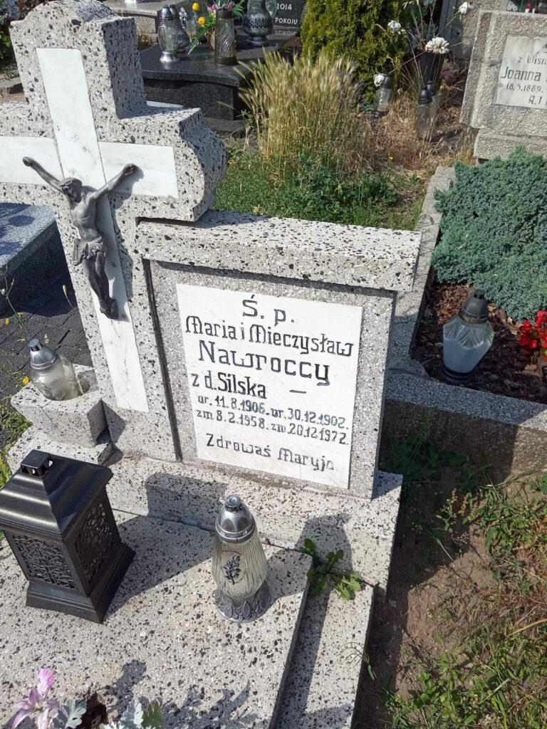 Mieczysław Nawrocki - cmentarz parafialny we Wrześni (zdjęcie udostępnił Remigiusz Maćkowiak)