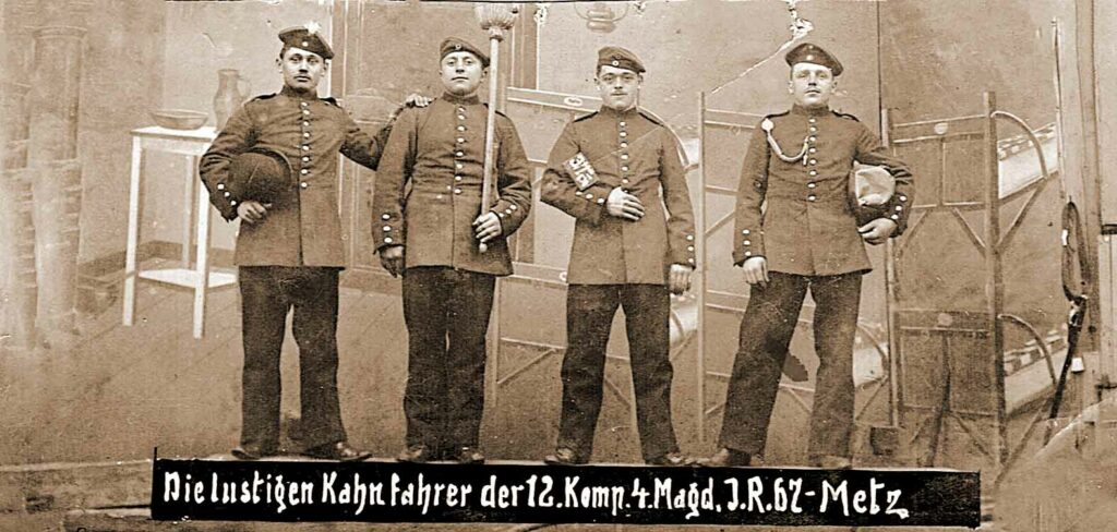 Antoni Dybalski pierwszy z lewej (zdjęcie udostępnił Michał Pawełczyk)