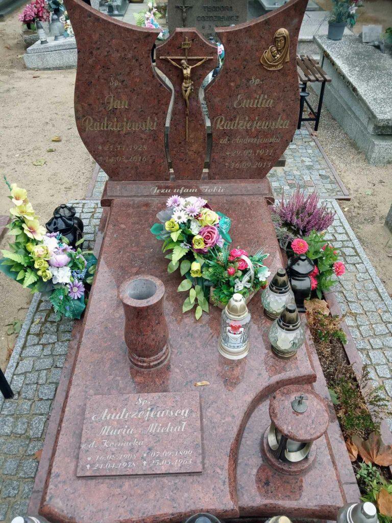 Michał Andrzejewski - cmentarz komunalny we Wrześni (zdjęcie udostępnił Remigiusz Maćkowiak)