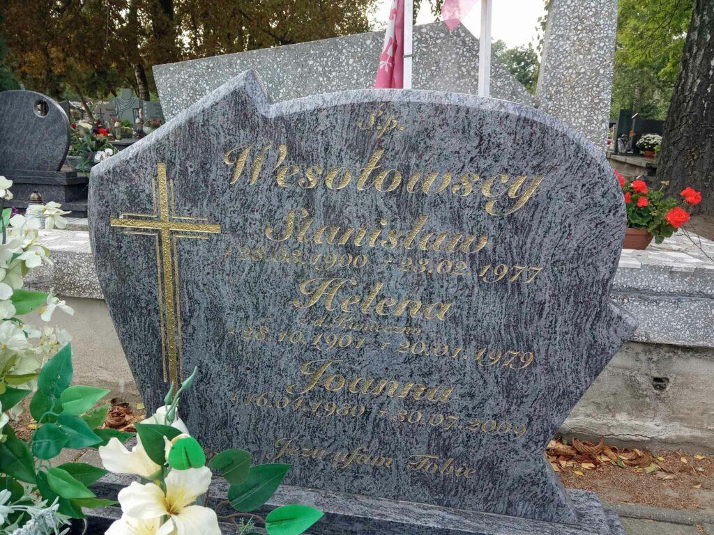 Stanisław Wesołowski - cmentarz parafialny w Witkowie (zdjęcie udostępnił Remigiusz Maćkowiak)